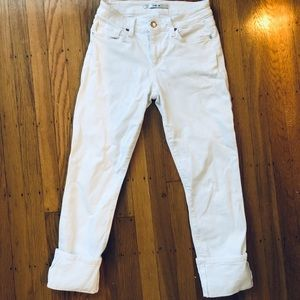 Joes jeans white crop